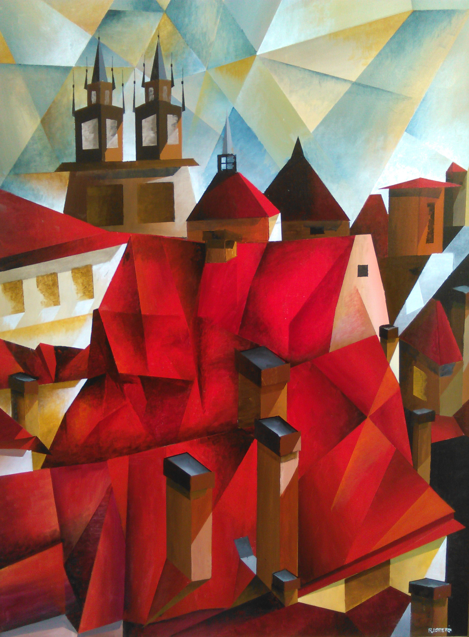 Roberto Loreto, I Tetti della Vecchia Praga