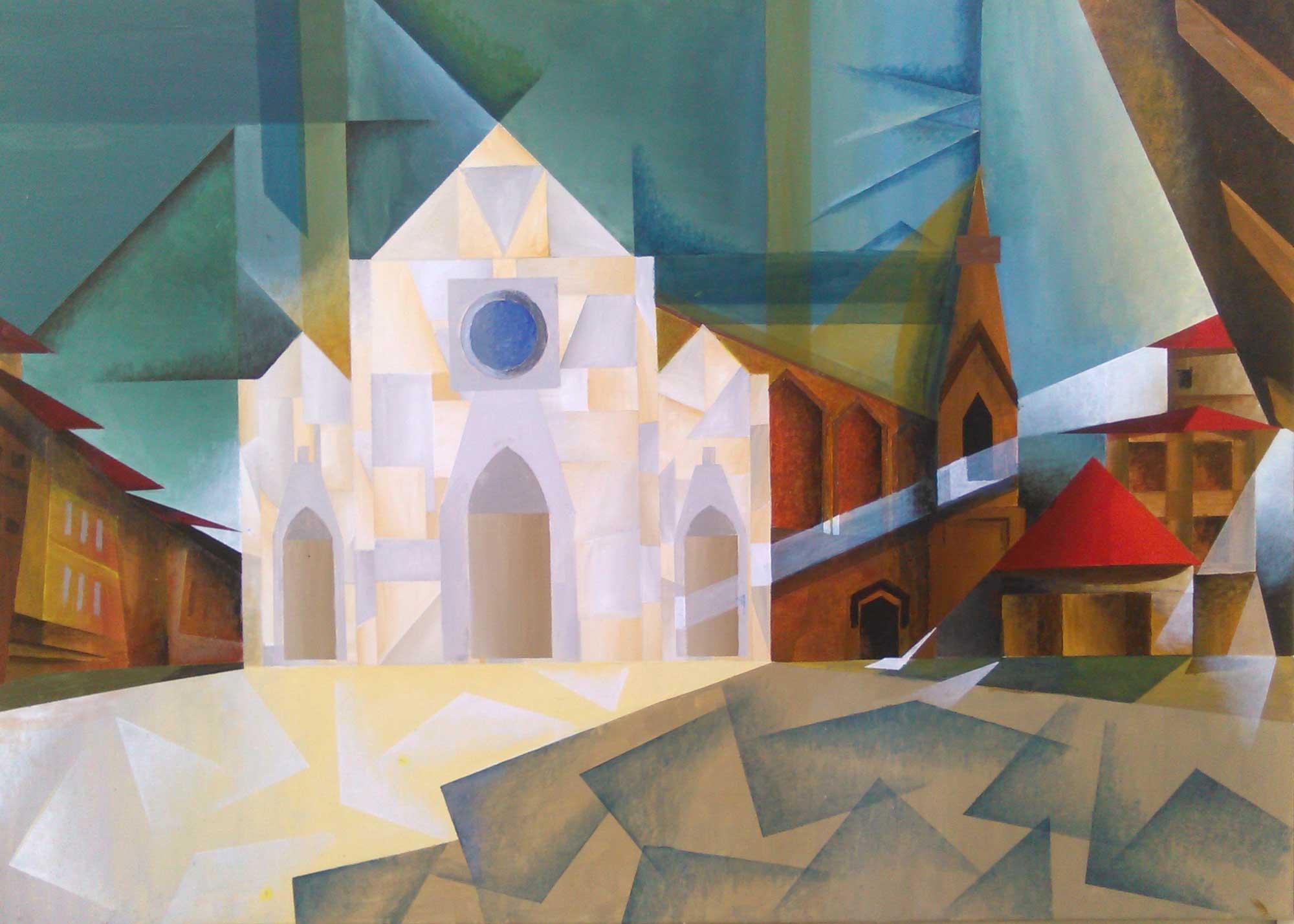 Roberto Loreto, Chiesa di Santa Croce
